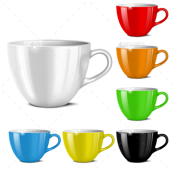 GraphicRiver Set of Cups 10267275