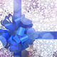 Gift with blue bow and ribbon - PhotoDune Item for Sale
