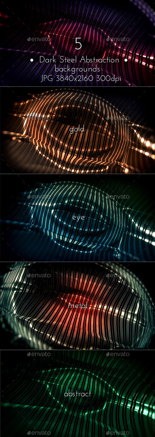 GraphicRiver Dark Steel Abstraction 10267503