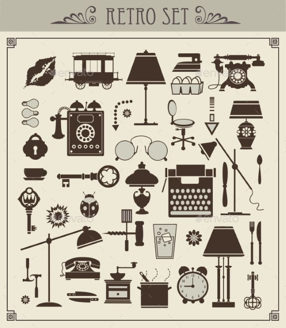 GraphicRiver Vintage Objects 10267529