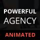 Powerful Agency - Animated Adobe Muse Template