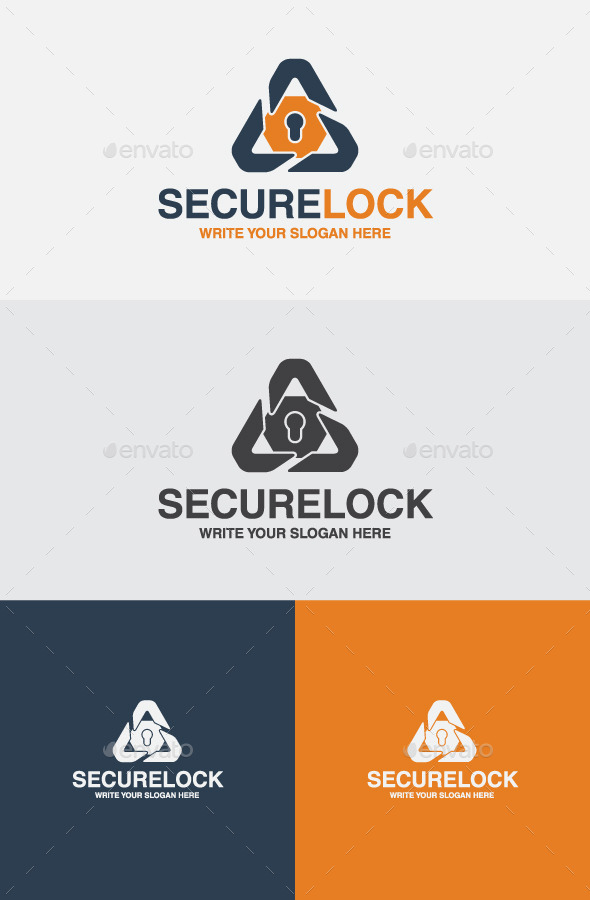 GraphicRiver Secure Lock 10267603