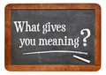 What gives you meaning ? - PhotoDune Item for Sale