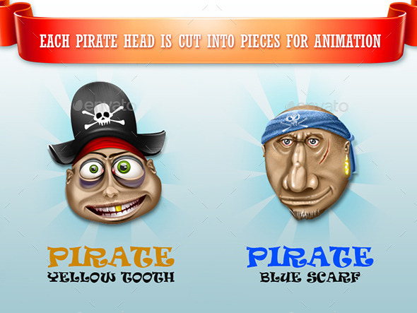 GraphicRiver Happy Pirates 10267653