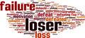 Loser Word Cloud Concept - PhotoDune Item for Sale
