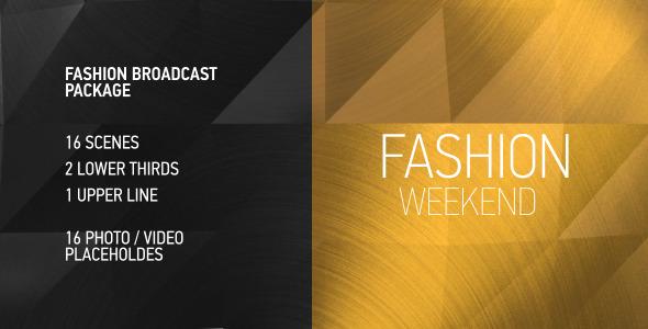 VideoHive Fashion Week Broadcast Pack 10267821