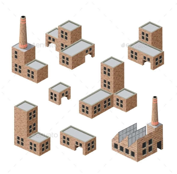 Brick Buildings