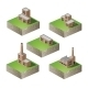 Isometric Buildings - GraphicRiver Item for Sale