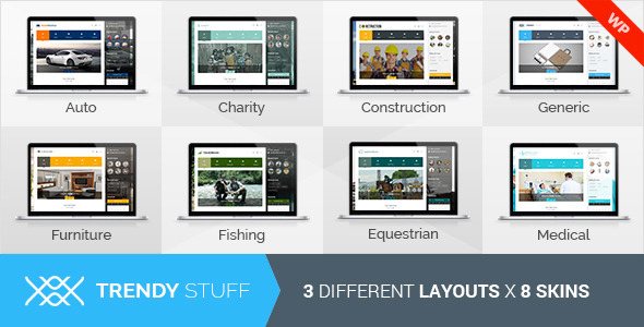 TrendyStuff Multiconcept WordPress Theme