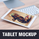 Realistic Tablet Mockup - GraphicRiver Item for Sale