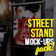 Street Stand Mock-Ups Pack - GraphicRiver Item for Sale