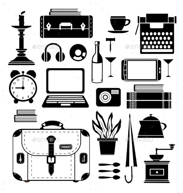 GraphicRiver Travel Set 10268355