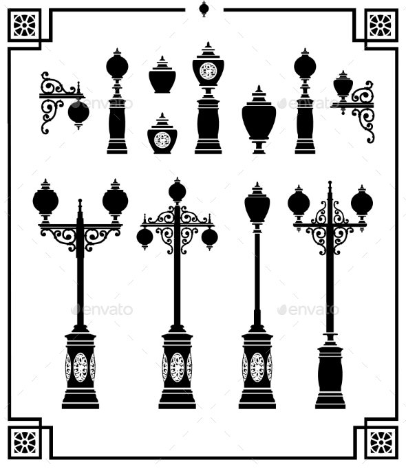 GraphicRiver Street Lamps 10268651