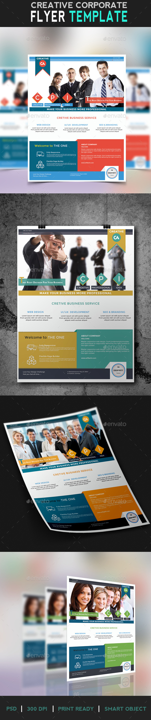GraphicRiver Flyer Creative Business 10131973