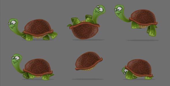 Tortoise Animation Set