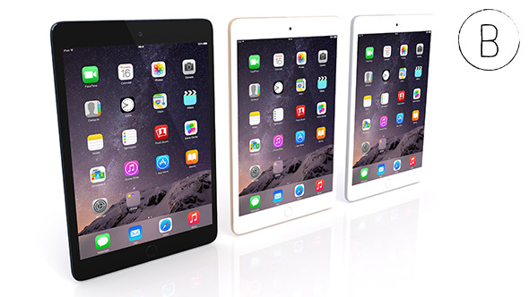 3DOcean Apple iPad Mini 3 10268996