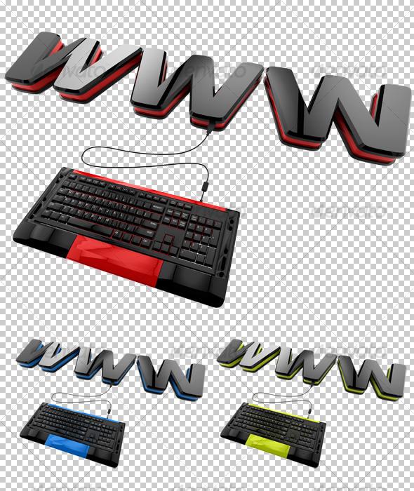 GraphicRiver www 3D 129310