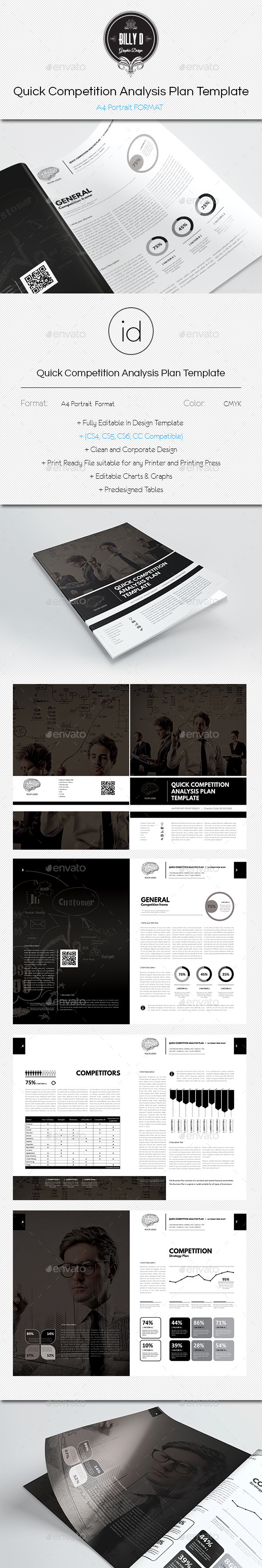 GraphicRiver Quick Competition Analysis Plan Template 10269212