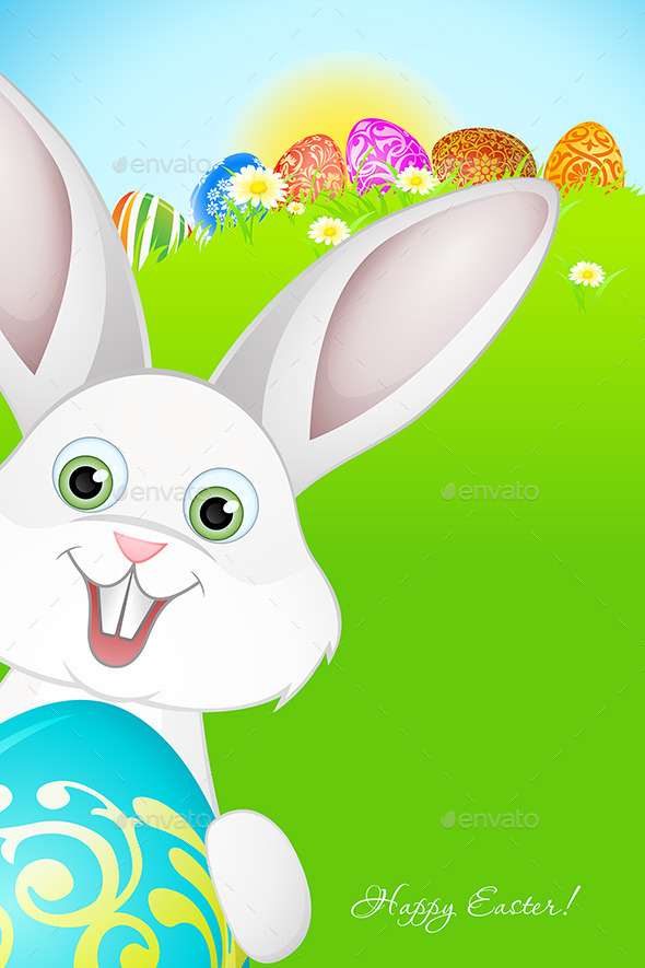 GraphicRiver Easter Holiday Background 10269255