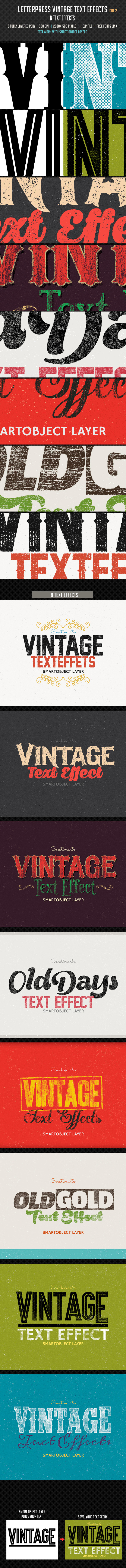 GraphicRiver Letterpress Vintage Text Effects 2 10269589