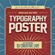 Typography Flyer - GraphicRiver Item for Sale