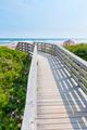 Wooden walkway to ocean beach - PhotoDune Item for Sale