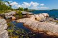 Rocky shore in Georgian Bay - PhotoDune Item for Sale