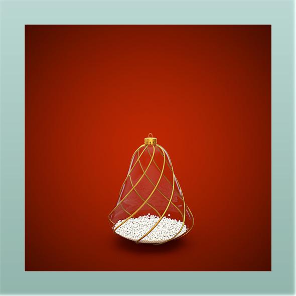 HiRes Christmas Decoration 7 - 3DOcean Item for Sale