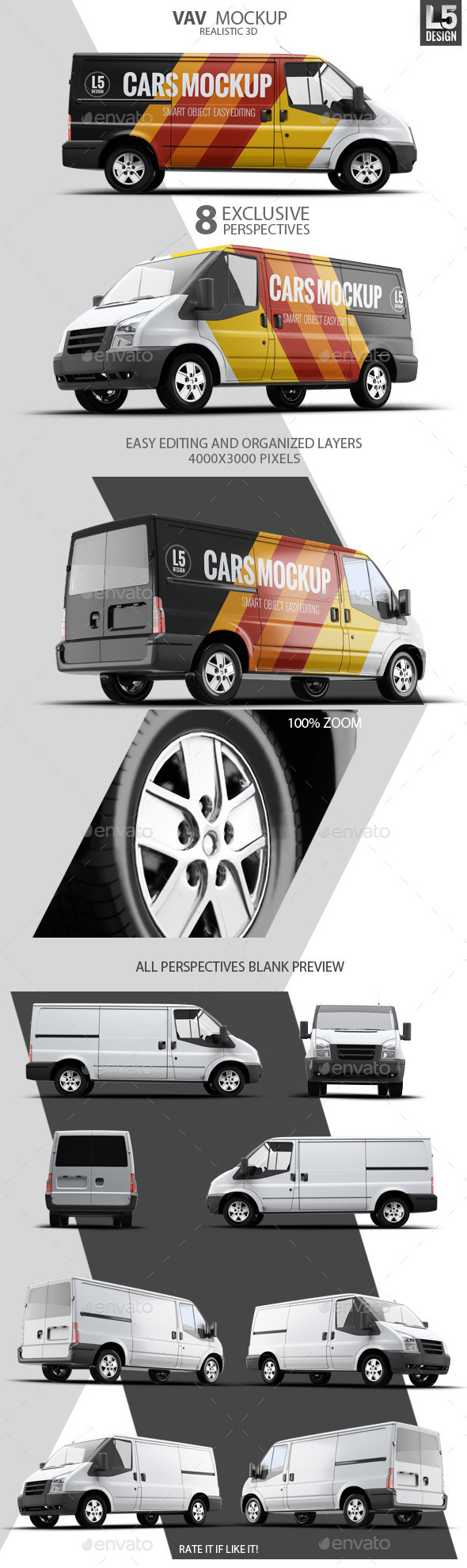 GraphicRiver Van Mock-Up 10270122