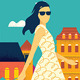 Modern Urban Woman  - GraphicRiver Item for Sale