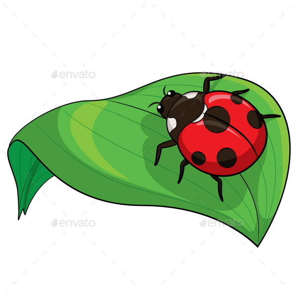 GraphicRiver Ladybird Cartoon 10270251