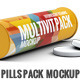 Effervescent Pills Pack Mock-Up - GraphicRiver Item for Sale