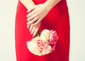 woman hands with flowers and ring - PhotoDune Item for Sale