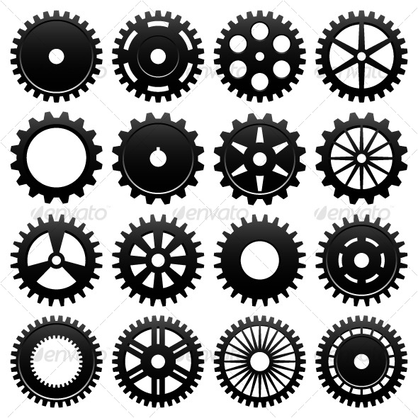 GraphicRiver Machine Gear Wheel Cogwheel 129559