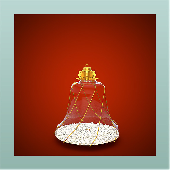 HiRes Christmas Decoration 8 - 3DOcean Item for Sale