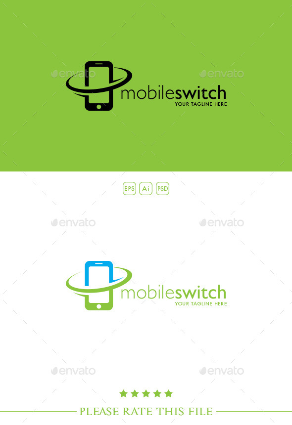 GraphicRiver Mobile Logo 10270924