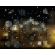 Rain Drops Night City - GraphicRiver Item for Sale