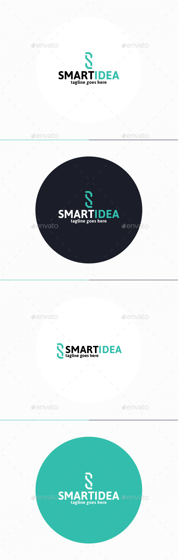GraphicRiver Smart Idea Logo Letter S 10271294