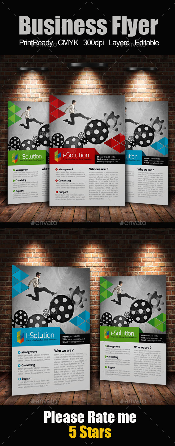 GraphicRiver A4 Multi Use Business Flyer 10271322
