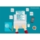 Programming Coding Flat Concept Illustration - GraphicRiver Item for Sale