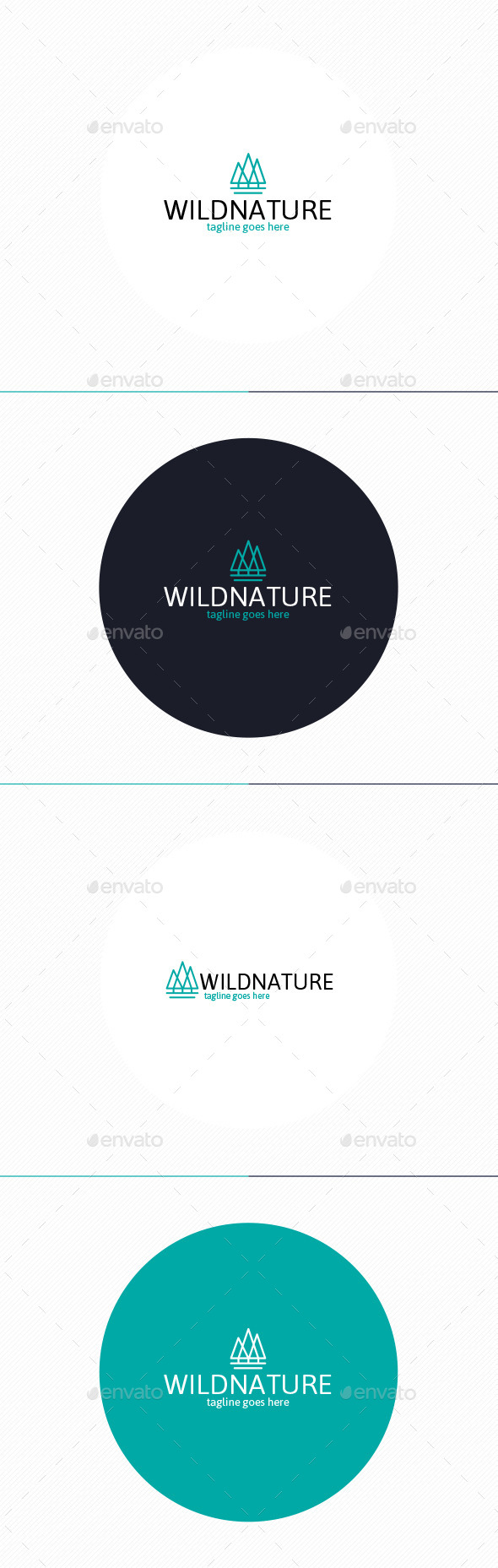 GraphicRiver Wild Nature Logo 10271488