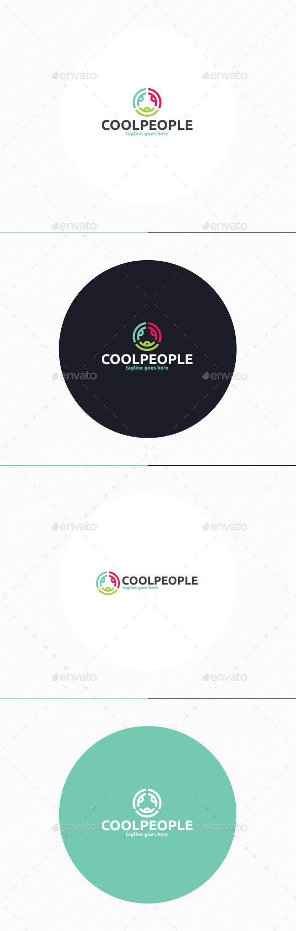 GraphicRiver Cool People Logo 10271778
