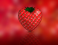 Heart shaped strawberry - PhotoDune Item for Sale