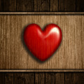 Grunge wood heart background - PhotoDune Item for Sale