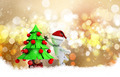 Christmas background with 3d morph man - PhotoDune Item for Sale