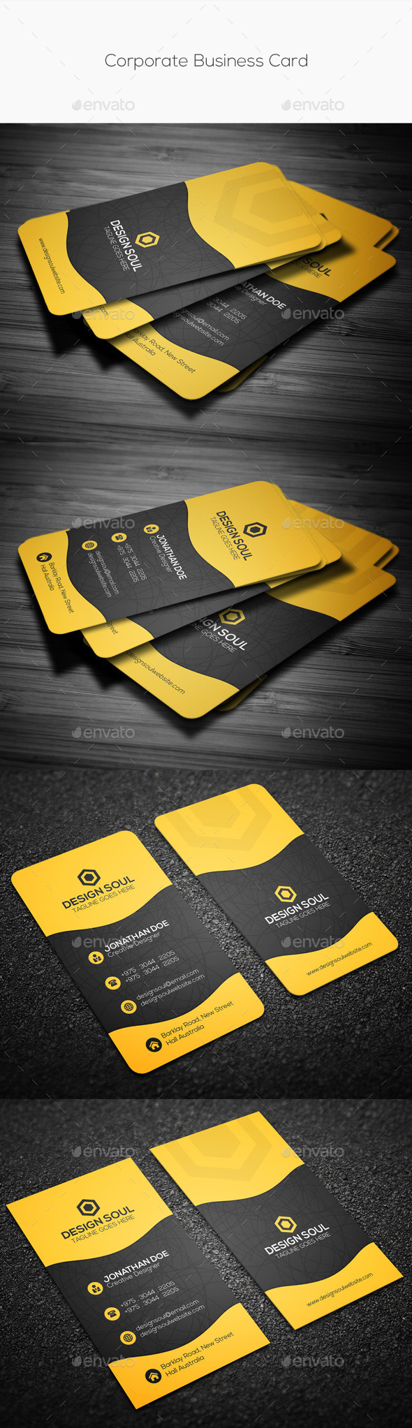 GraphicRiver Corporate Business Card 10272189