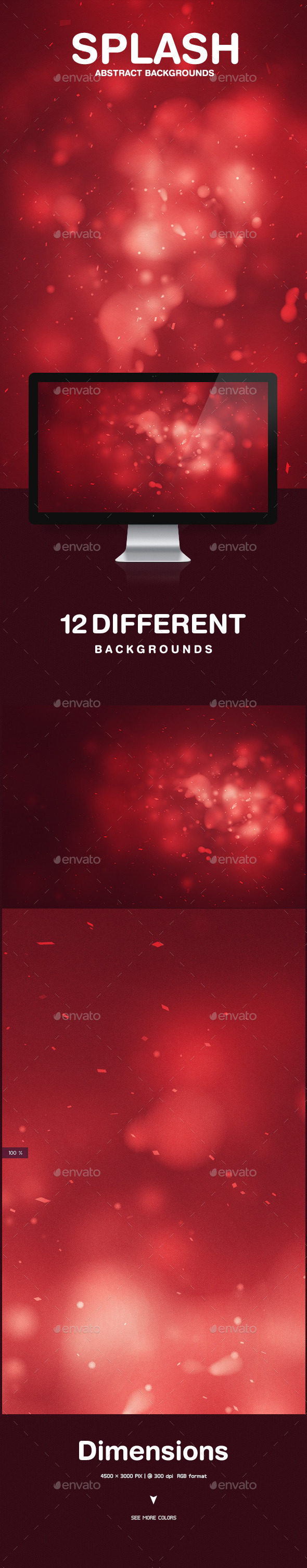 GraphicRiver Splash Abstract Backgrounds 10272314