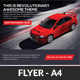 Rent A Car Business Flyer Template - GraphicRiver Item for Sale