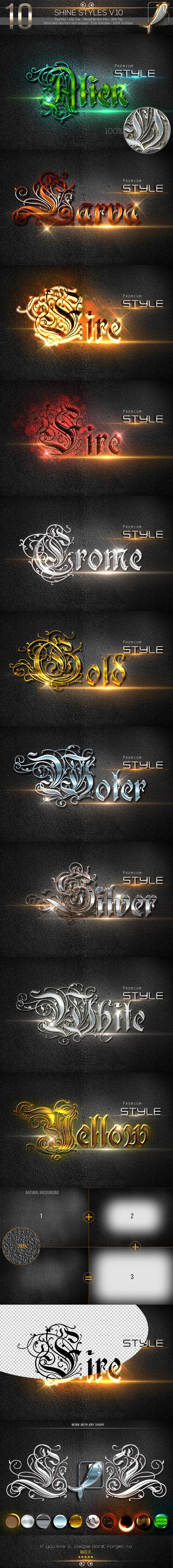 10 Shine Styles V.10