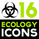 Set of Ecology and Environment Related Icons - GraphicRiver Item for Sale